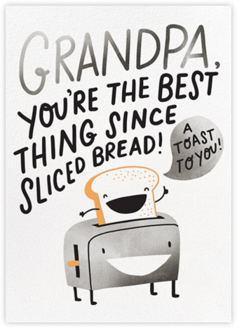 Sliced Bread - Hello!Lucky - Father's Day Cards