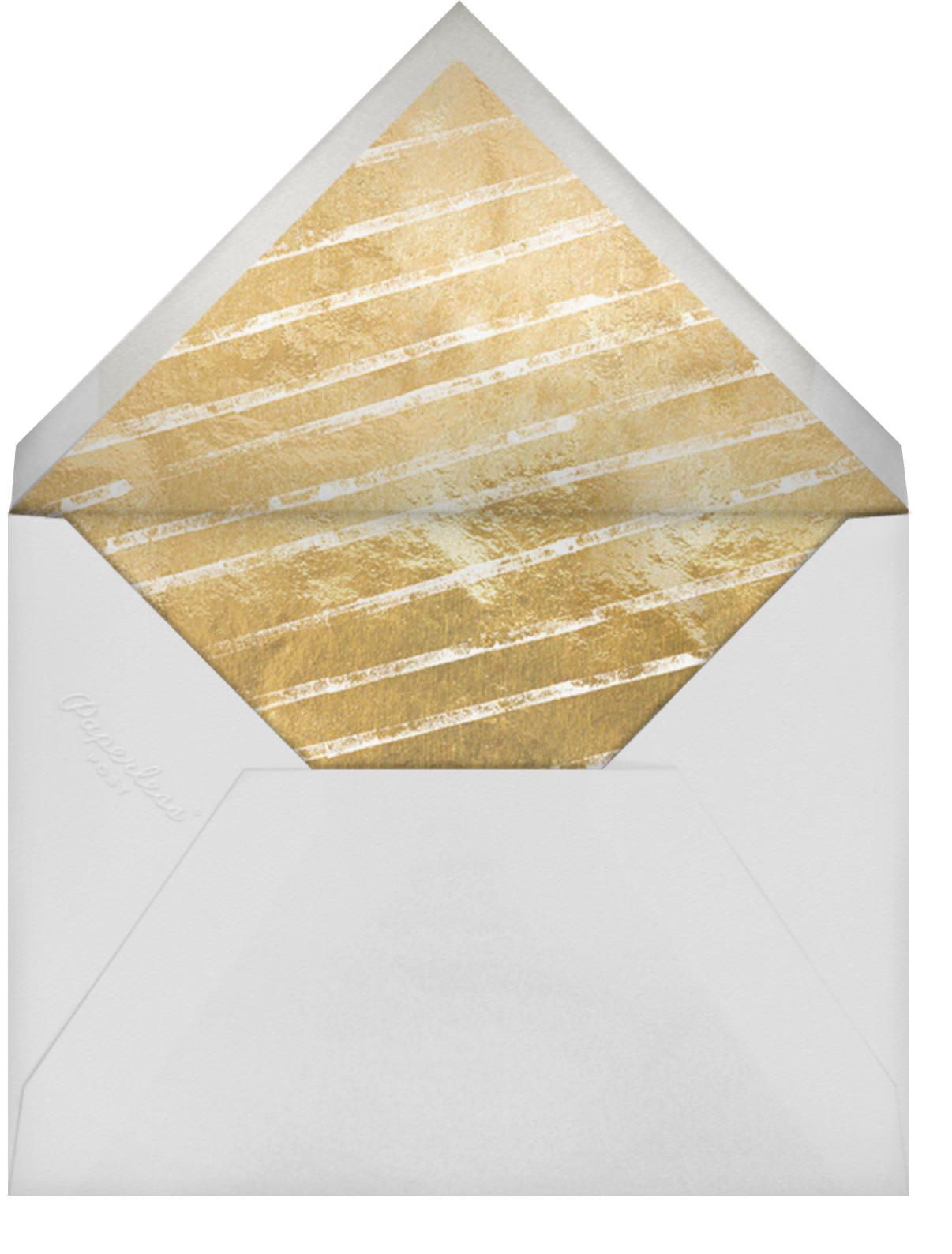Hex Border (Invitation) - Blue - Kelly Wearstler - All - envelope back