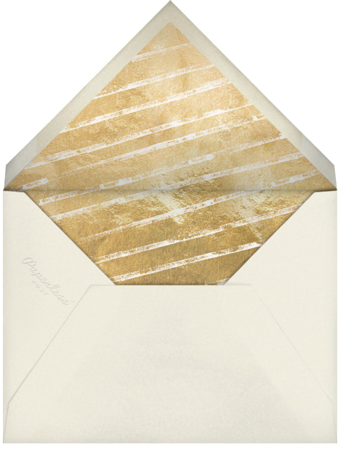 Hex Border (Invitation) - Cream - Kelly Wearstler - All - envelope back