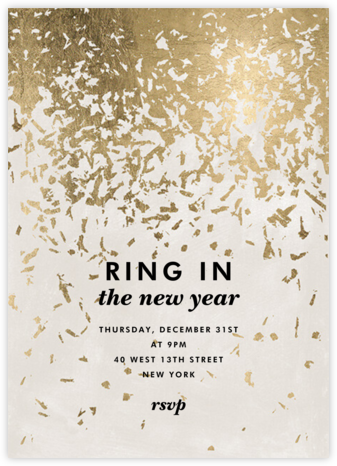 Mezzo Pearl - Cream - Kelly Wearstler - New Year's Eve Invitations