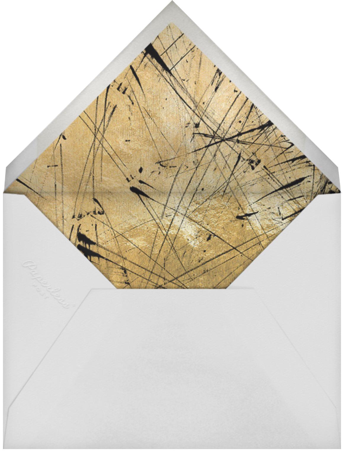 Mezzo Pearl - Black - Kelly Wearstler - New Year's Eve - envelope back
