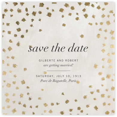 Divot - Cream - Kelly Wearstler - Save the dates