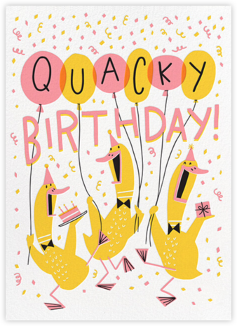 Quack Up - Hello!Lucky - Birthday