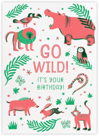 Wild Fronds - Hello!Lucky - Birthday