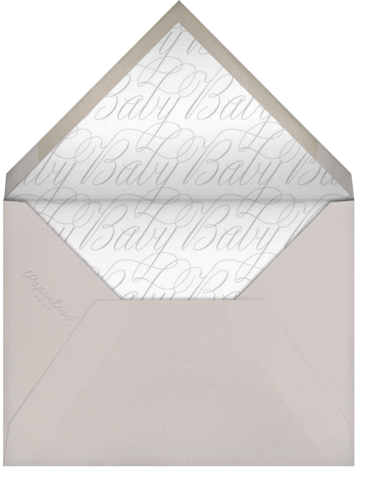 Double Take - Paperless Post - Envelope