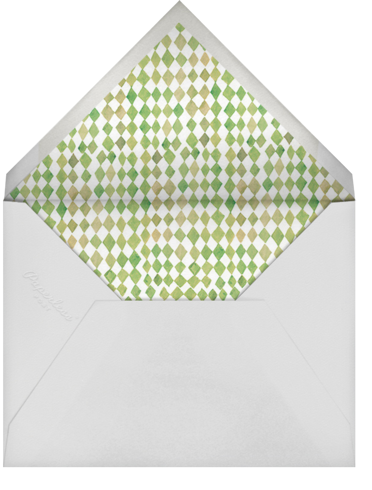 Lively Leaves - Happy Menocal - General entertaining - envelope back