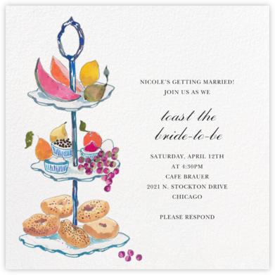 Three Tiers - Happy Menocal - Bridal shower invitations