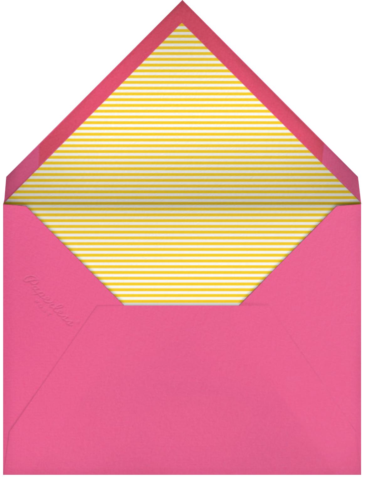 Splashy Chair - Paperless Post - Pool party - envelope back