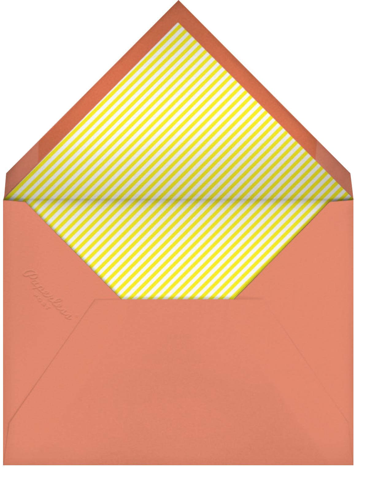 Party Cars - Paperless Post - Summer entertaining - envelope back