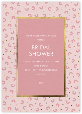That Petals It - Blossom - kate spade new york - Bridal shower invitations