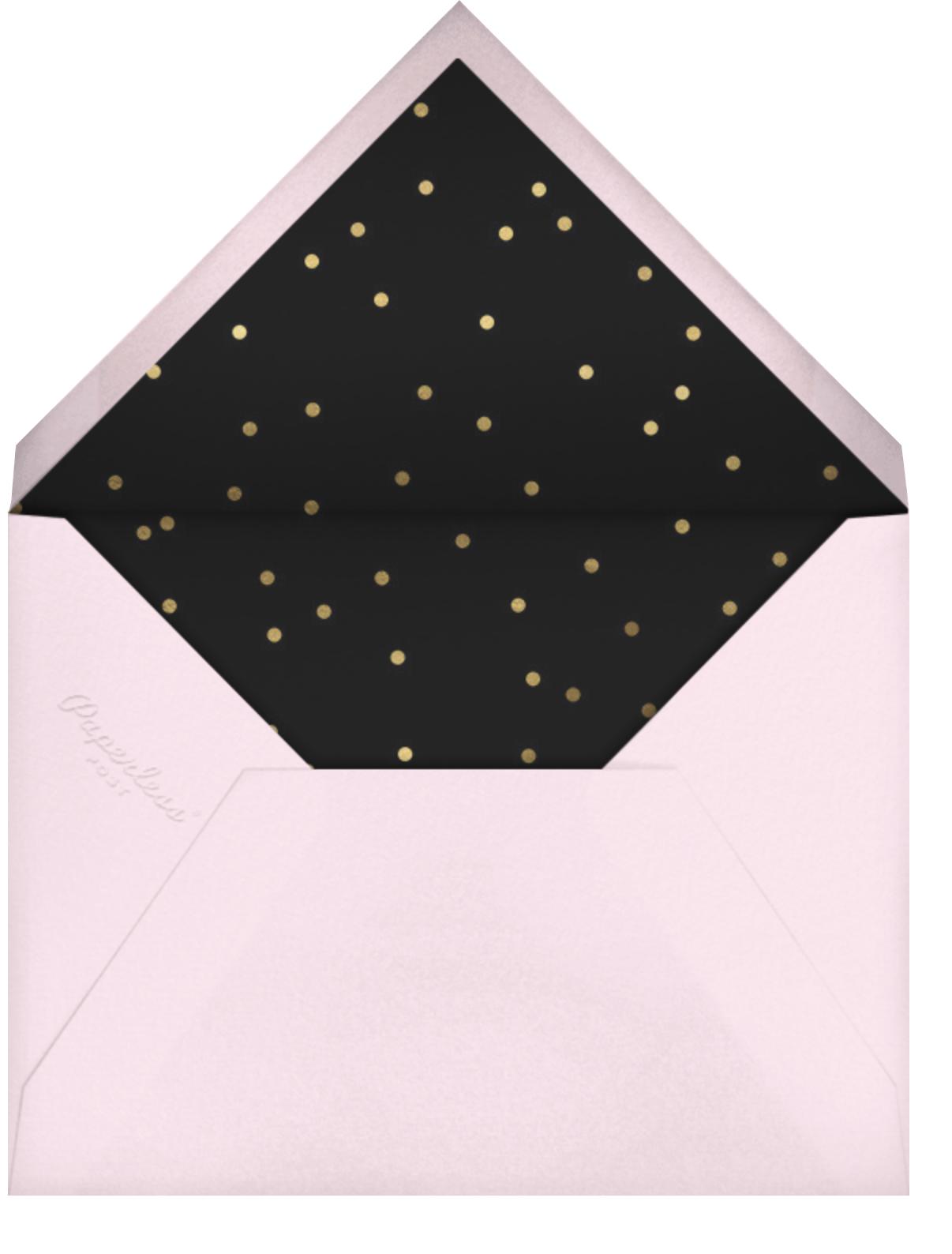 That Petals It - Black - kate spade new york - Adult birthday - envelope back