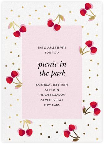 Merry Cherries - kate spade new york - Picnic Invitations