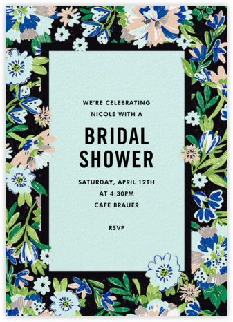 Garden Glory - kate spade new york - Bridal shower invitations