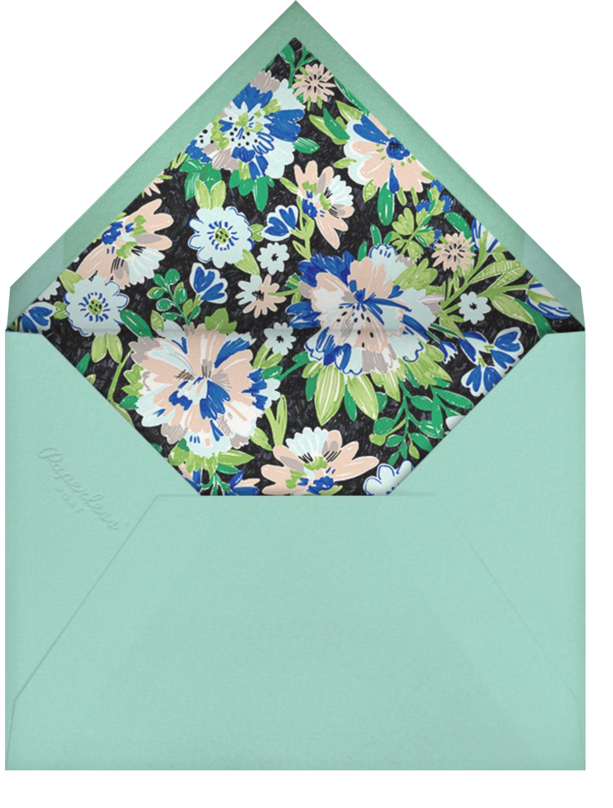 Garden Glory - kate spade new york - Bridal shower - envelope back