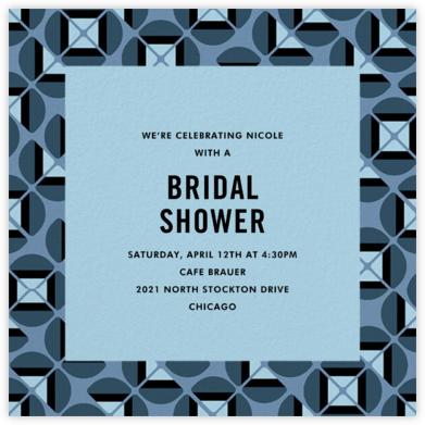 Oh My Mod - Spring Rain - kate spade new york - Bridal shower invitations