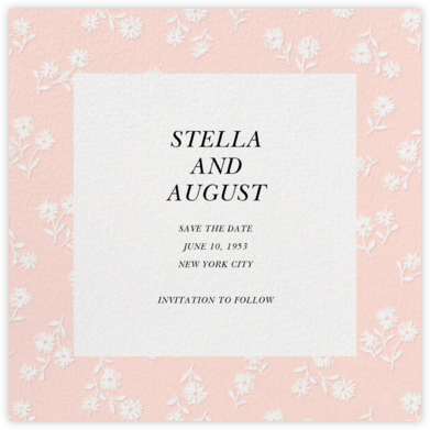 Prairie Tale - Meringue - kate spade new york - Save the dates