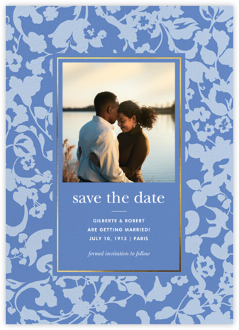Lace Garden Photo - Antwerp - kate spade new york - Save the dates
