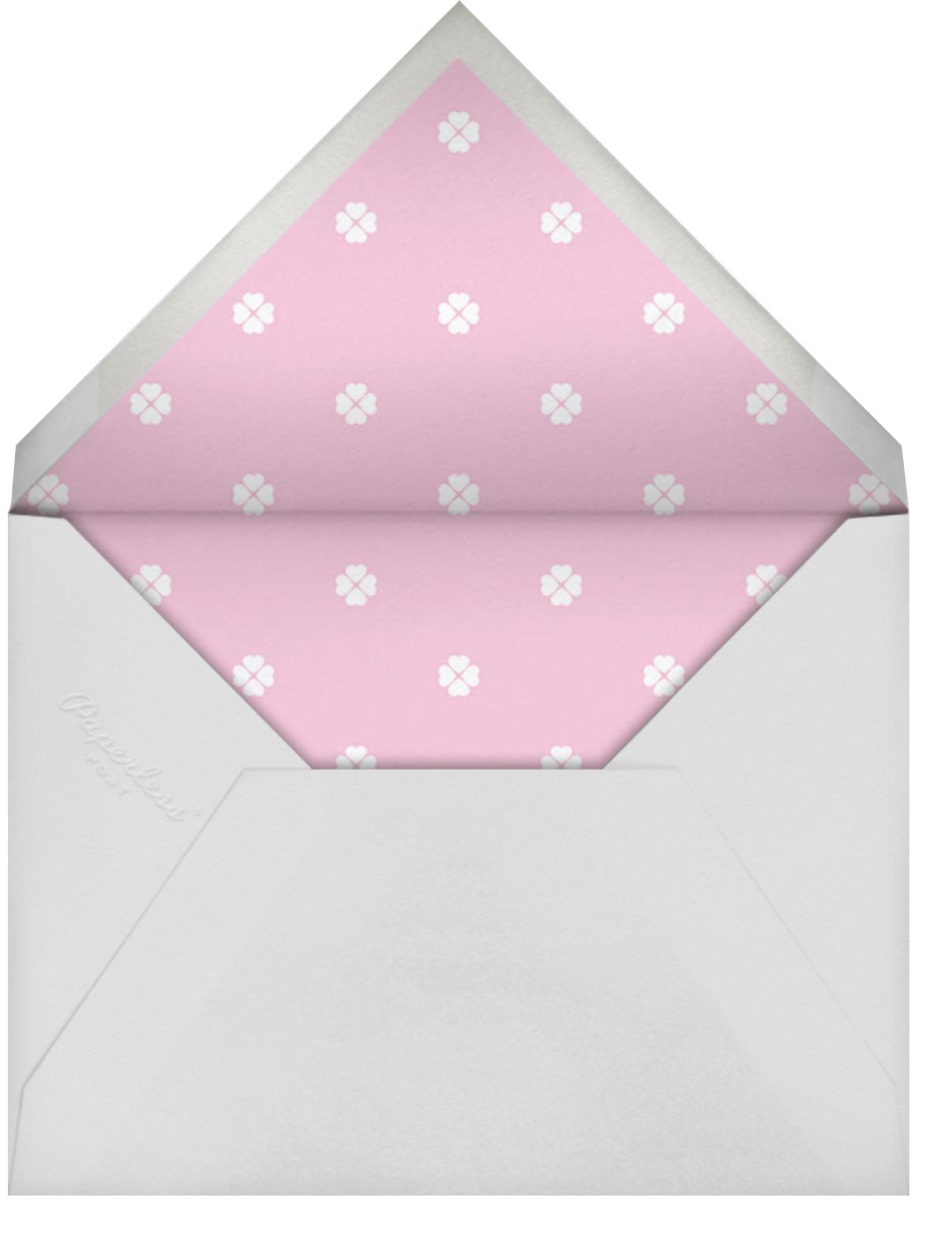 Montauk - Pink - kate spade new york - Save the date - envelope back