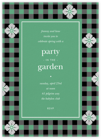 Garden Gingham - Sargasso - kate spade new york -
