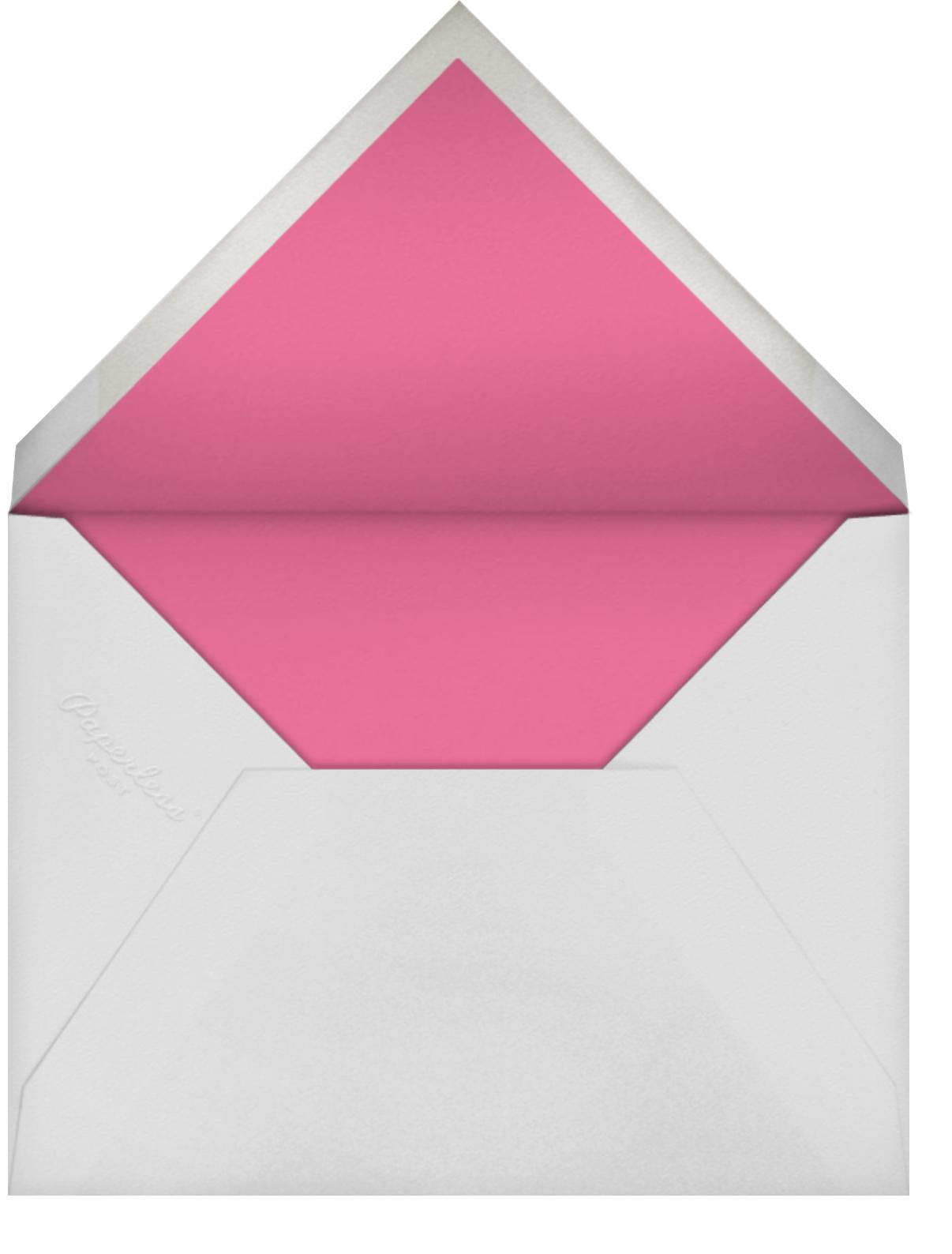 Long Stems - Raspberry - kate spade new york - Valentine's Day - envelope back