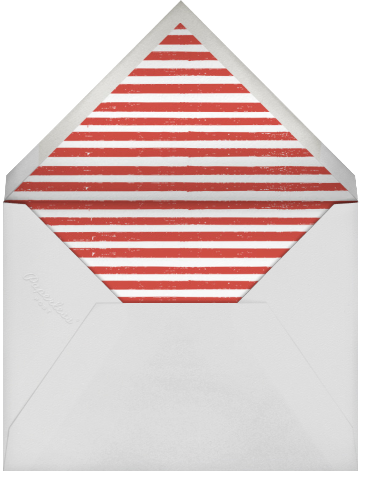 Santa's Slumber - Deep - Mr. Boddington's Studio - Holiday cards - envelope back