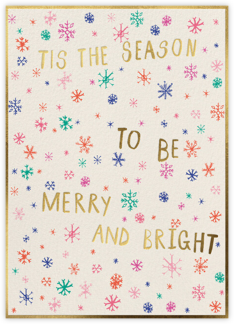 Merry Colors - Mr. Boddington's Studio - Holiday Cards