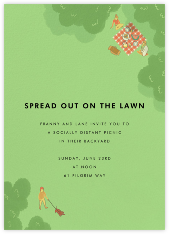 Prospect Park - Paperless Post - Online Party Invitations