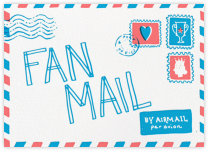 Fan Mail - Hello!Lucky - Celebration invitations