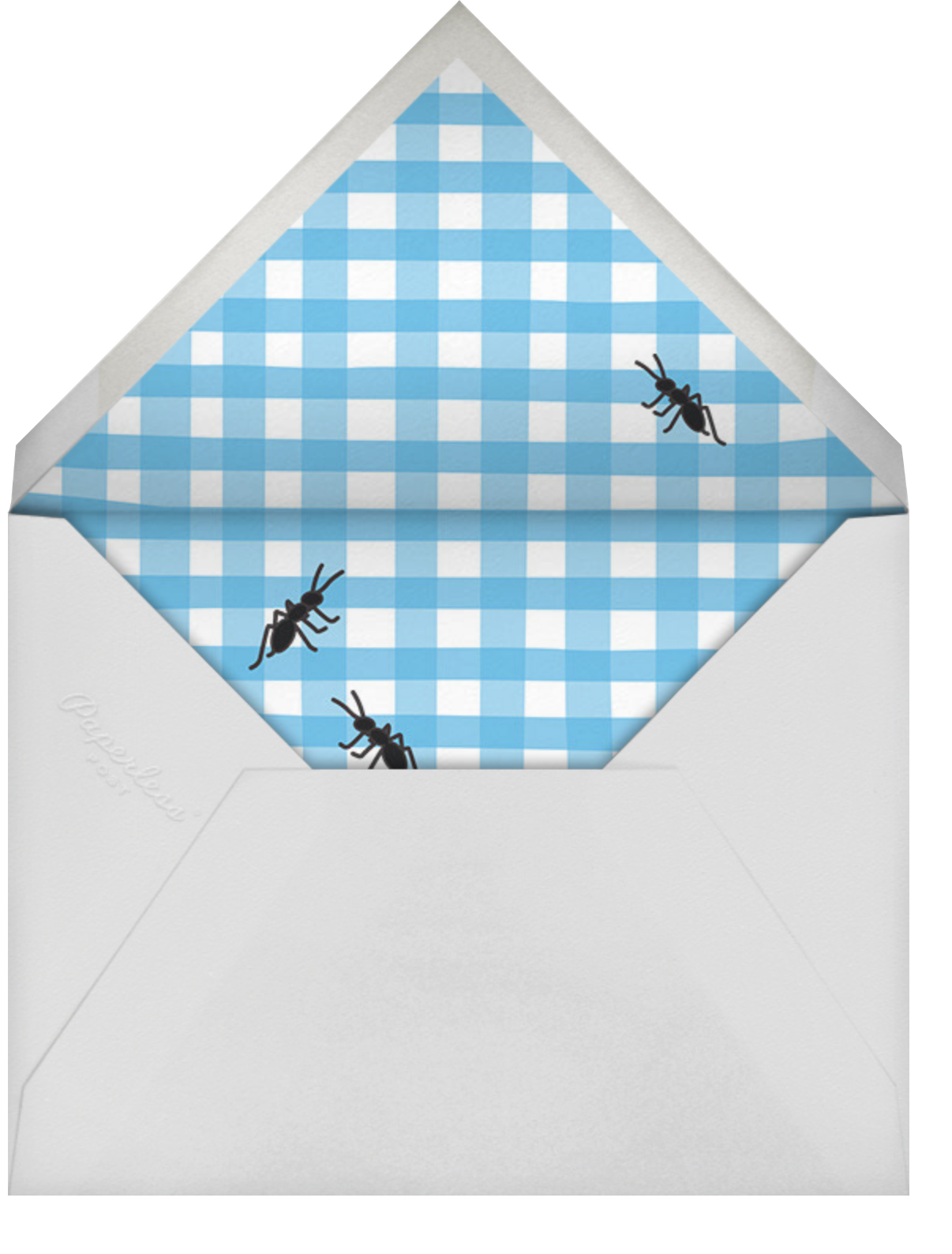 Ants Eat Free - Cheree Berry - Barbecue - envelope back