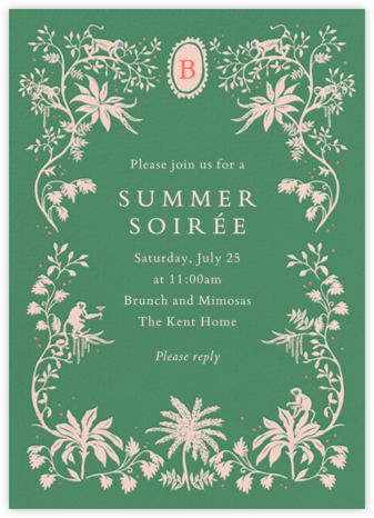 Summer Night's Dream - Cheree Berry - Invitations for Entertaining