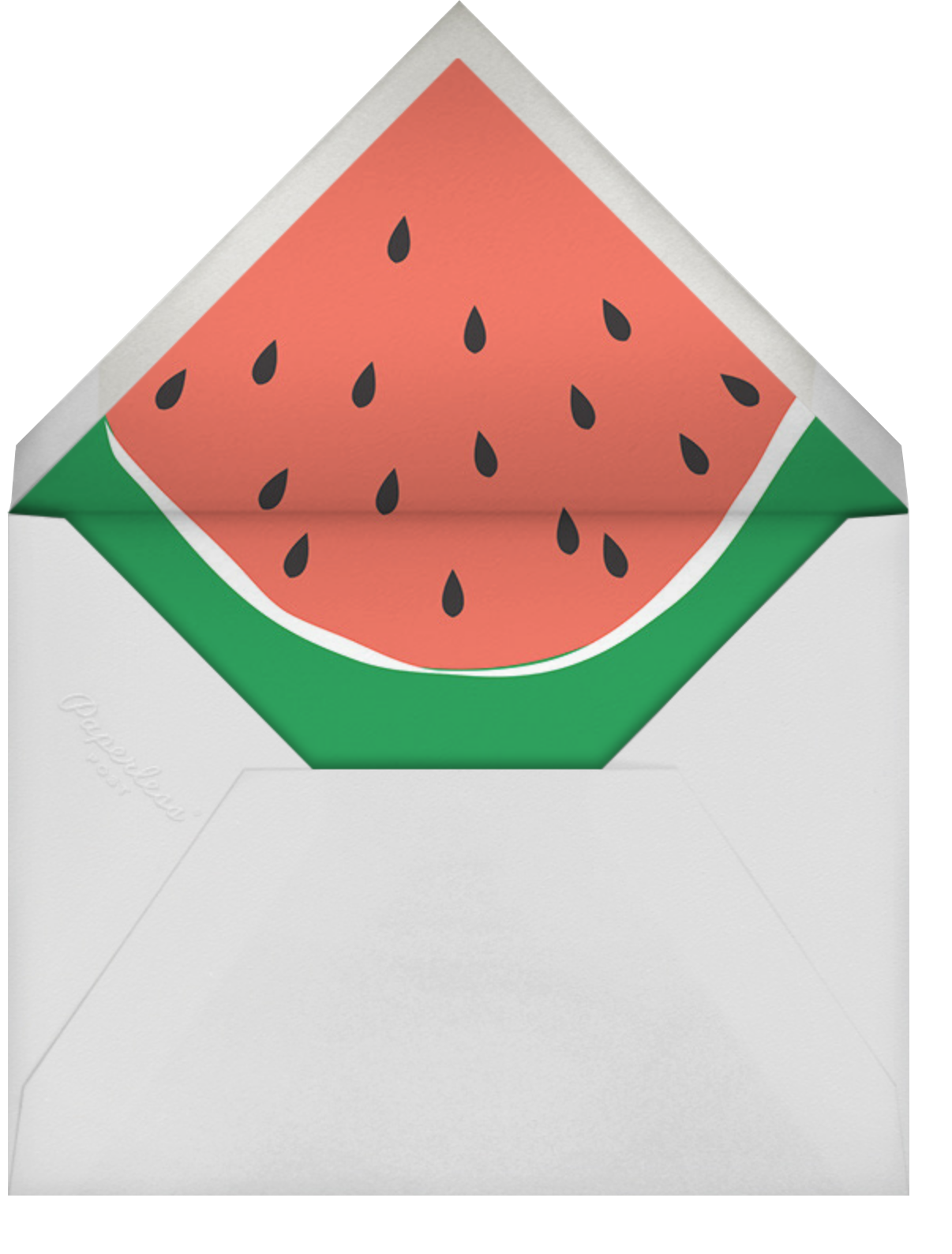 Fruit Floats - Cheree Berry - Pool party - envelope back