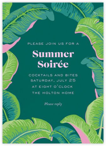 Lahaina - Cheree Berry - Summer Party Invitations