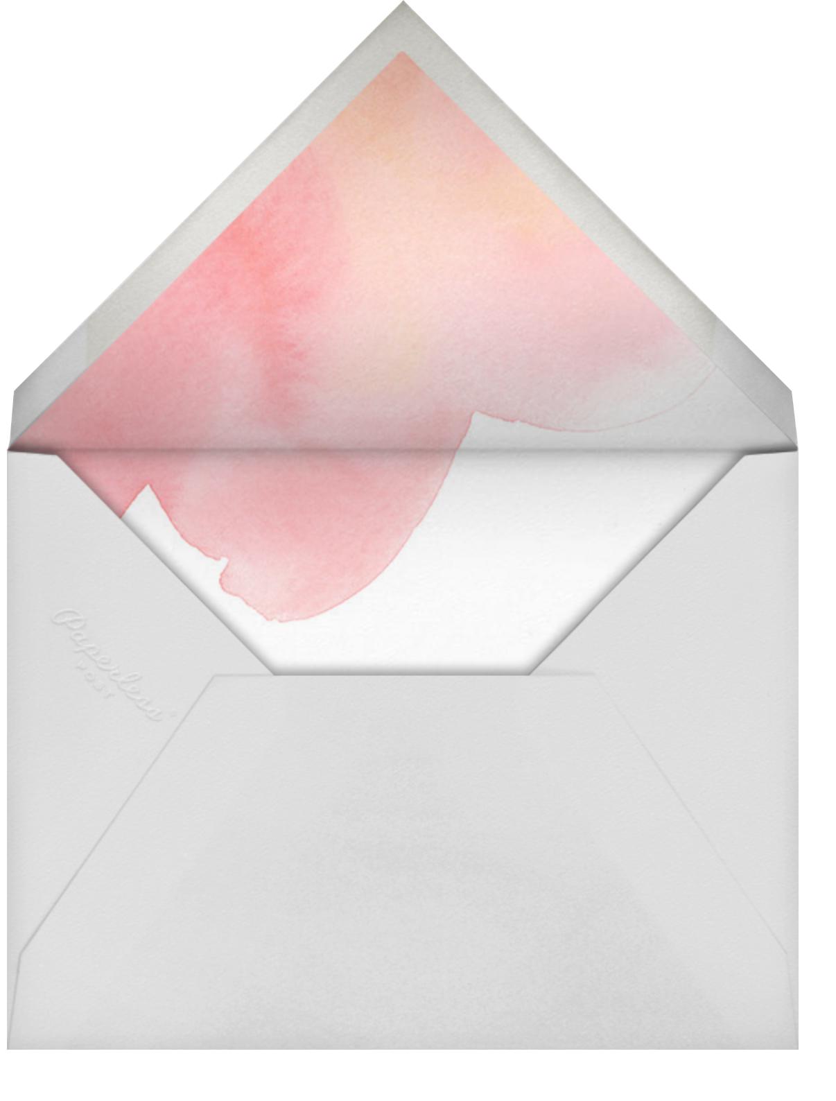 Blush Stroke - Paperless Post - Bridal shower - envelope back