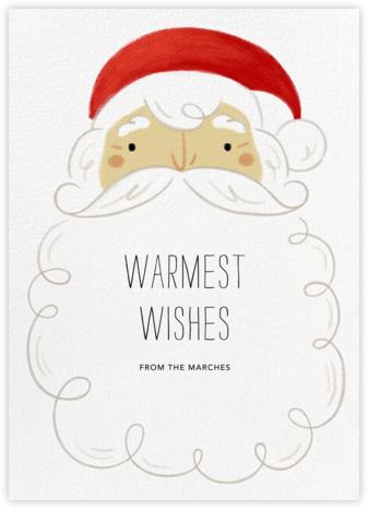 Whitebeard - Light - Paperless Post - Affordable Christmas Cards