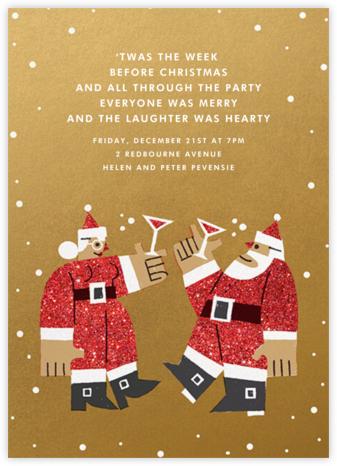 Kringle Mingle - Medium - Paperless Post - Christmas invitations