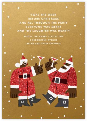 Kringle Mingle - Deep - Paperless Post - Christmas party invitations