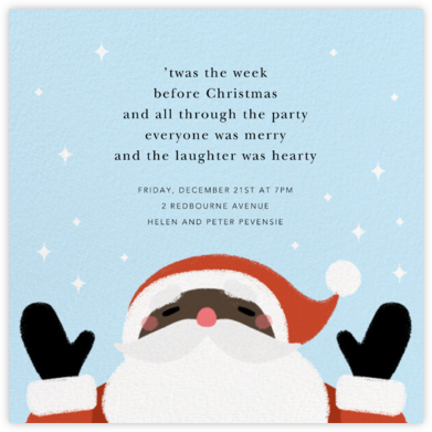 A Little Christmas Magic - Deep - Paperless Post - Christmas party invitations