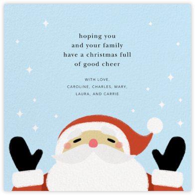 A Little Christmas Magic - Light - Paperless Post - Holiday Cards