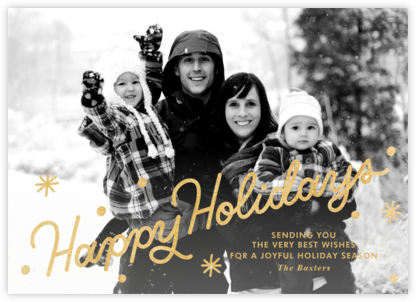 Classic Holiday - Paperless Post - Holiday Cards