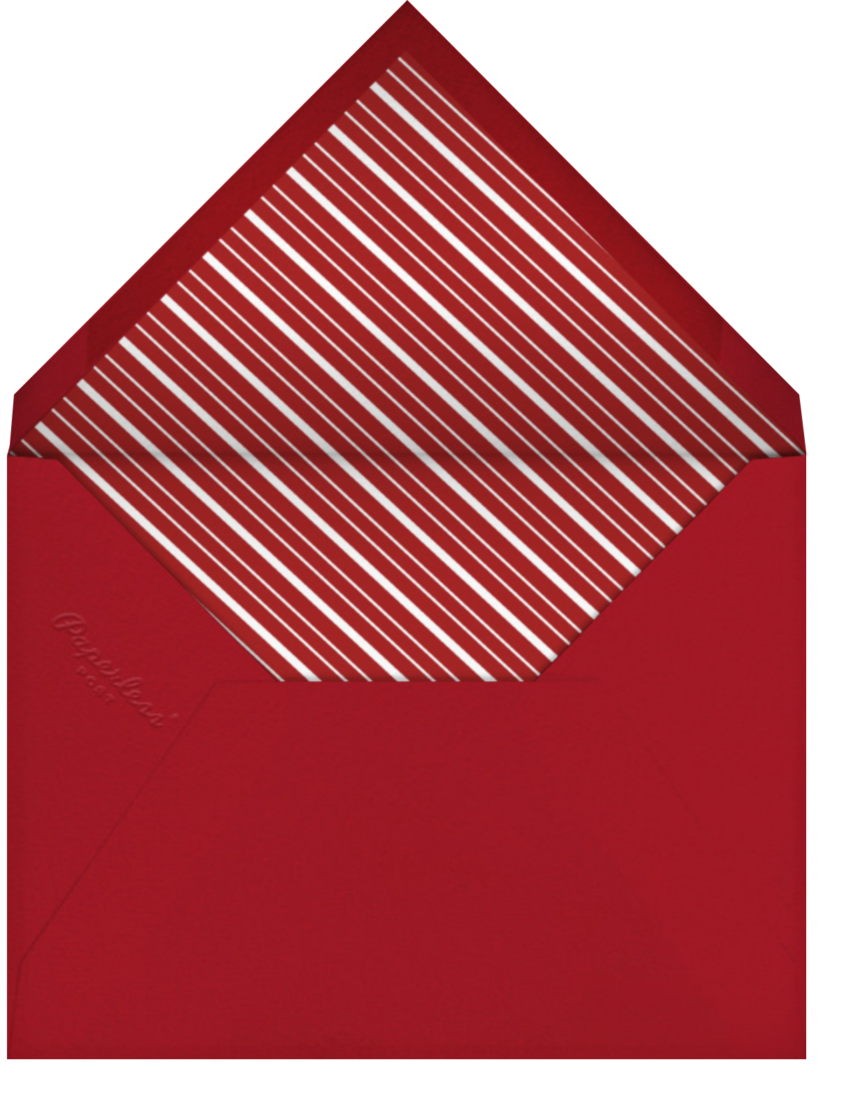 Tiny Toast - Tan - Paperless Post - Envelope