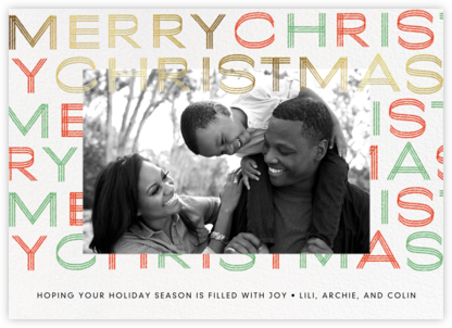 Very Merry - Paperless Post - Christmas Cards