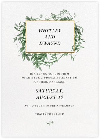 Thirlmere (Invitation) - Paperless Post - Wedding Invitations