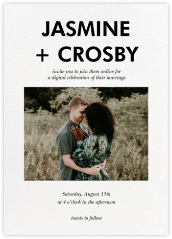 Hedcut (Invitation) - Paperless Post - Wedding Invitations