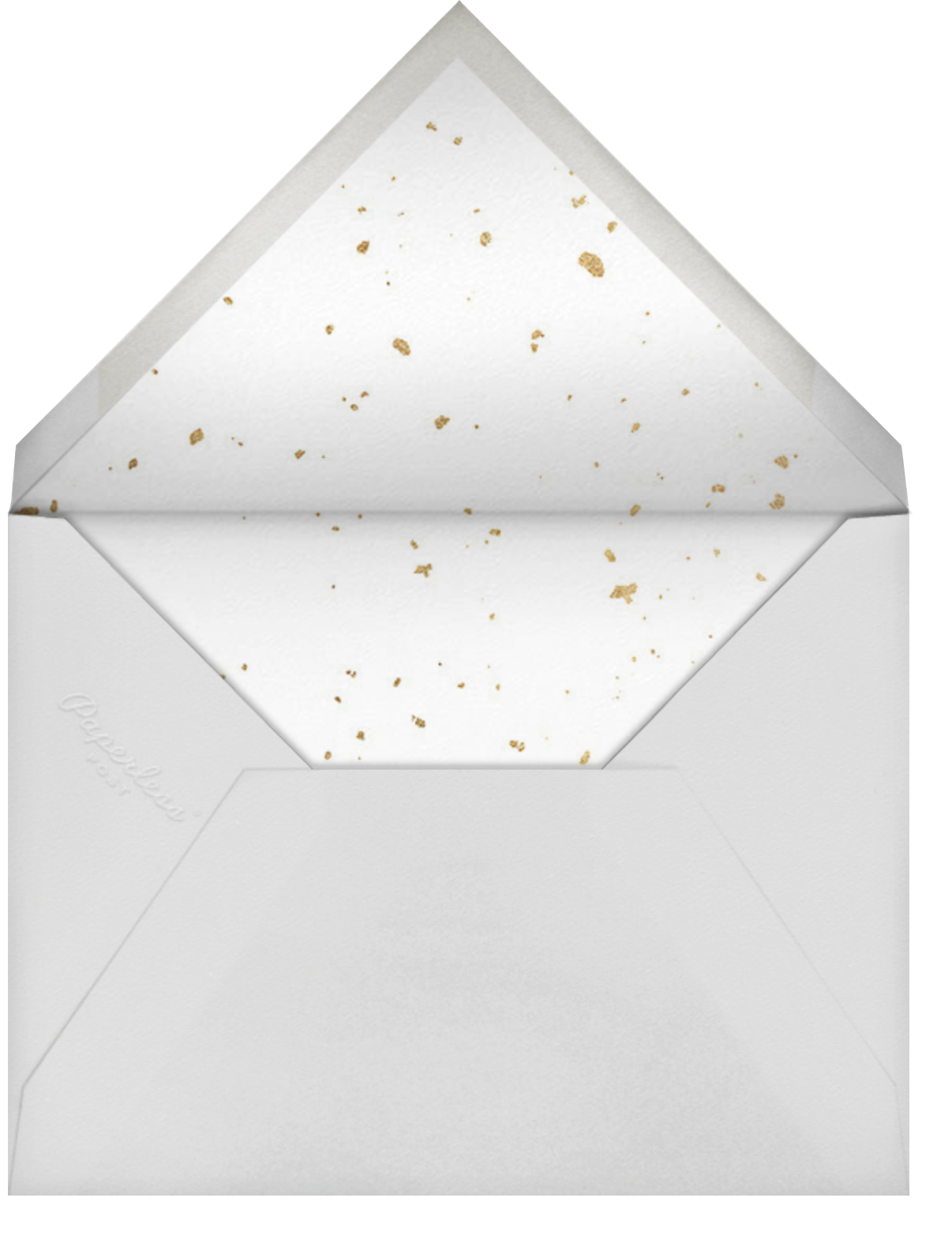 Dissolve (Invitation) - & - Paperless Post - Virtual wedding invitations - envelope back