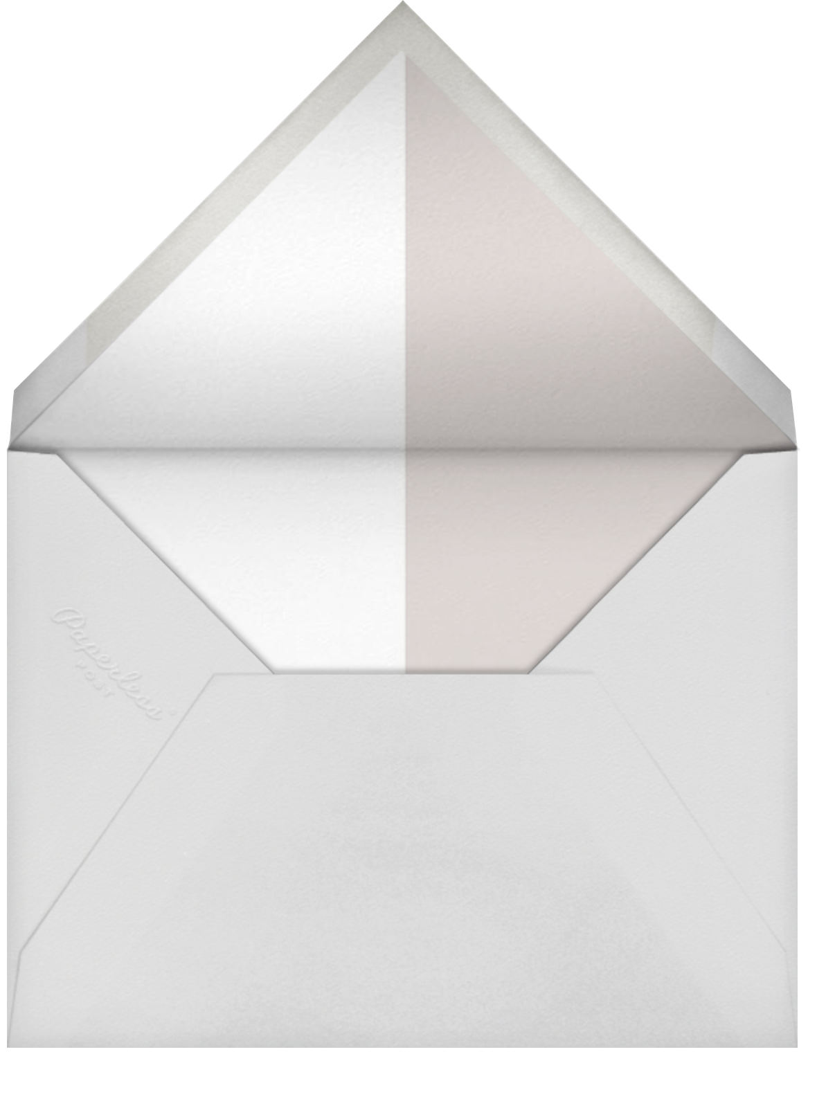 Burgoyne (Invitation) - Oyster/Gold - Paperless Post - Virtual wedding - envelope back