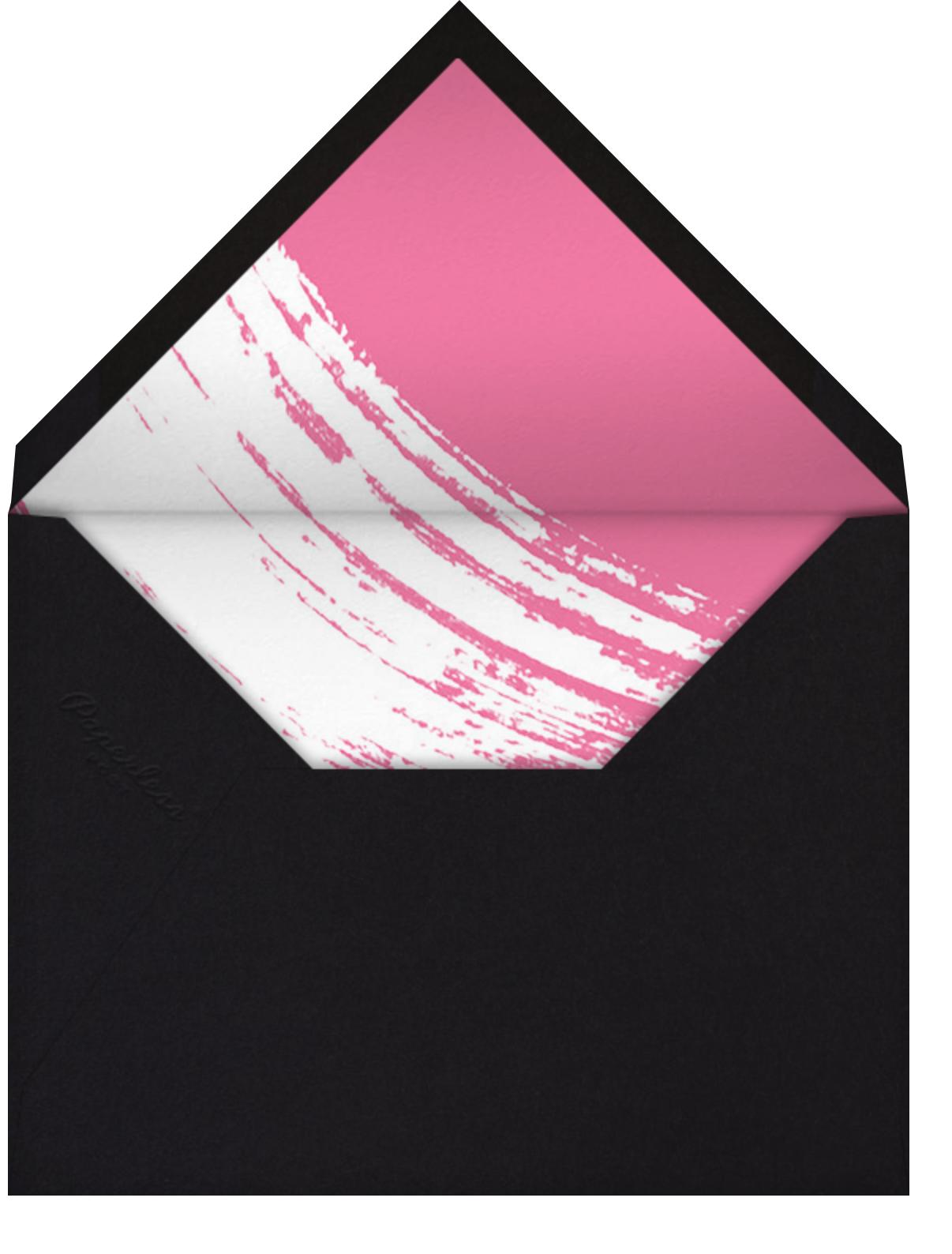 Impasto - Pink - Paperless Post - General entertaining - envelope back