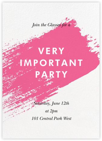 Impasto - Pink - Paperless Post - General Entertaining Invitations