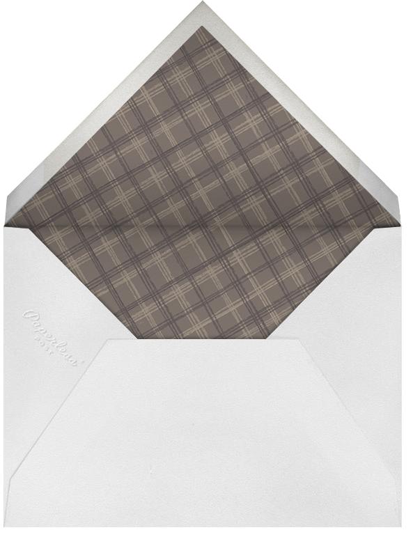 Beagle Border - Paperless Post - Personalized stationery - envelope back