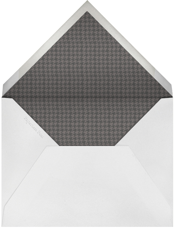 Mister Fox - Paperless Post - Personalized stationery - envelope back