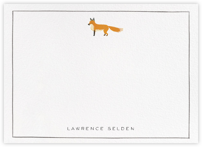 Mister Fox - Paperless Post - Personalized Stationery